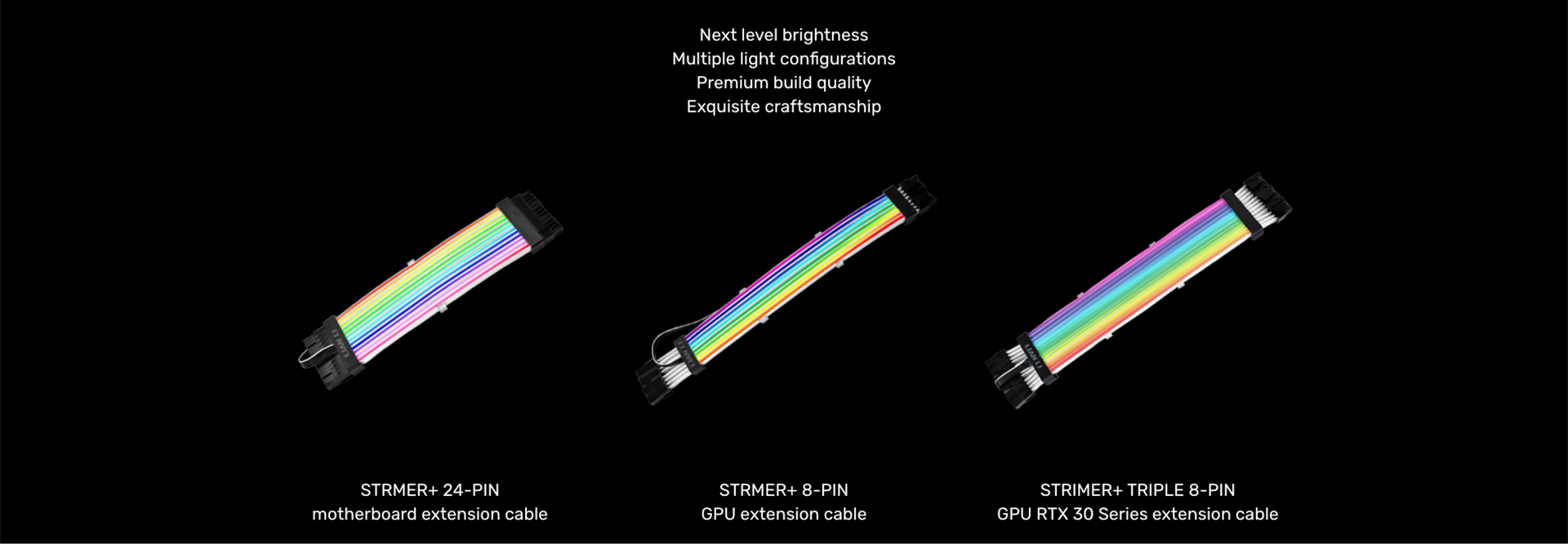 Strimer Plus 24-PIN/ 8-PIN/ TRIPLE 8-PIN - The one and only RGB product you  need.