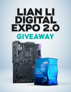 Read more about the article LIAN LI 2021 DIGITAL EXPO 2.0 Giveaway