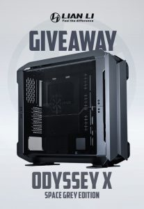 Read more about the article ODYSSEY X Space Grey Edition Giveaway