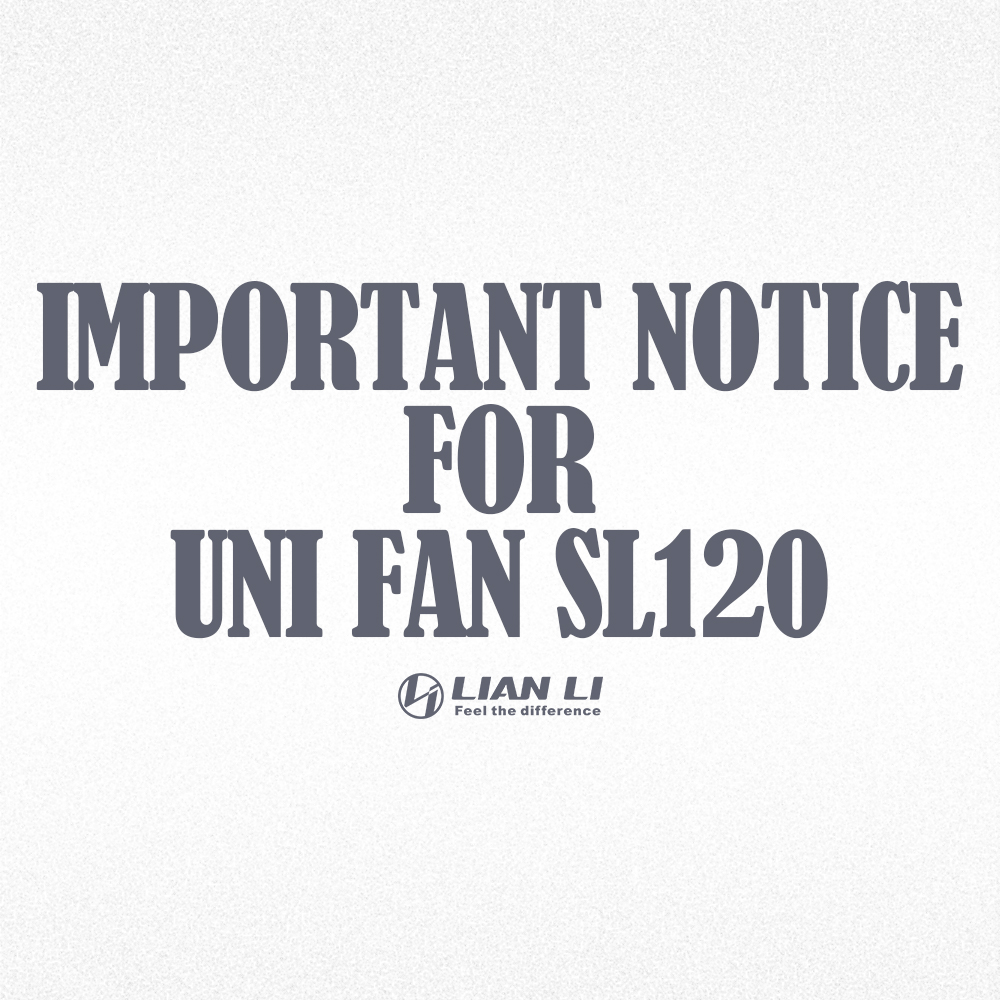 Read more about the article UNI FAN SL120 POSSIBLE DEFECTIVE LED ISSUE